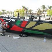 17_HIROSHI_Decorazione scafo e vela Dubai