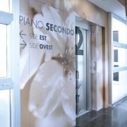Decorazione ascensore WORK OVEST Treviso