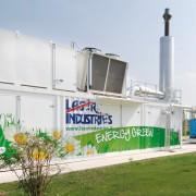 Decorazione container Laser Industries