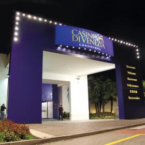 Insegna portale CASINO' CA-NOGHERA