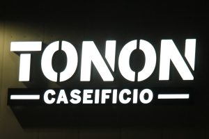 SAME LED SIGN BUT WITH DIFFERENT COLORS DURING DAY AND NIGHT