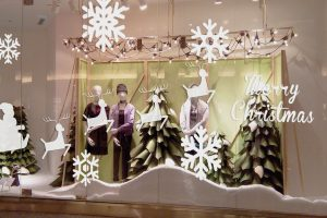 SETTING-UP STORES AND SHOP WINDOWS FOR CHRISTMAS 2019 WITH RETACK